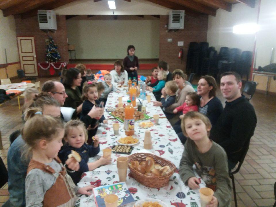 Repas fin d'année Parents-enfants