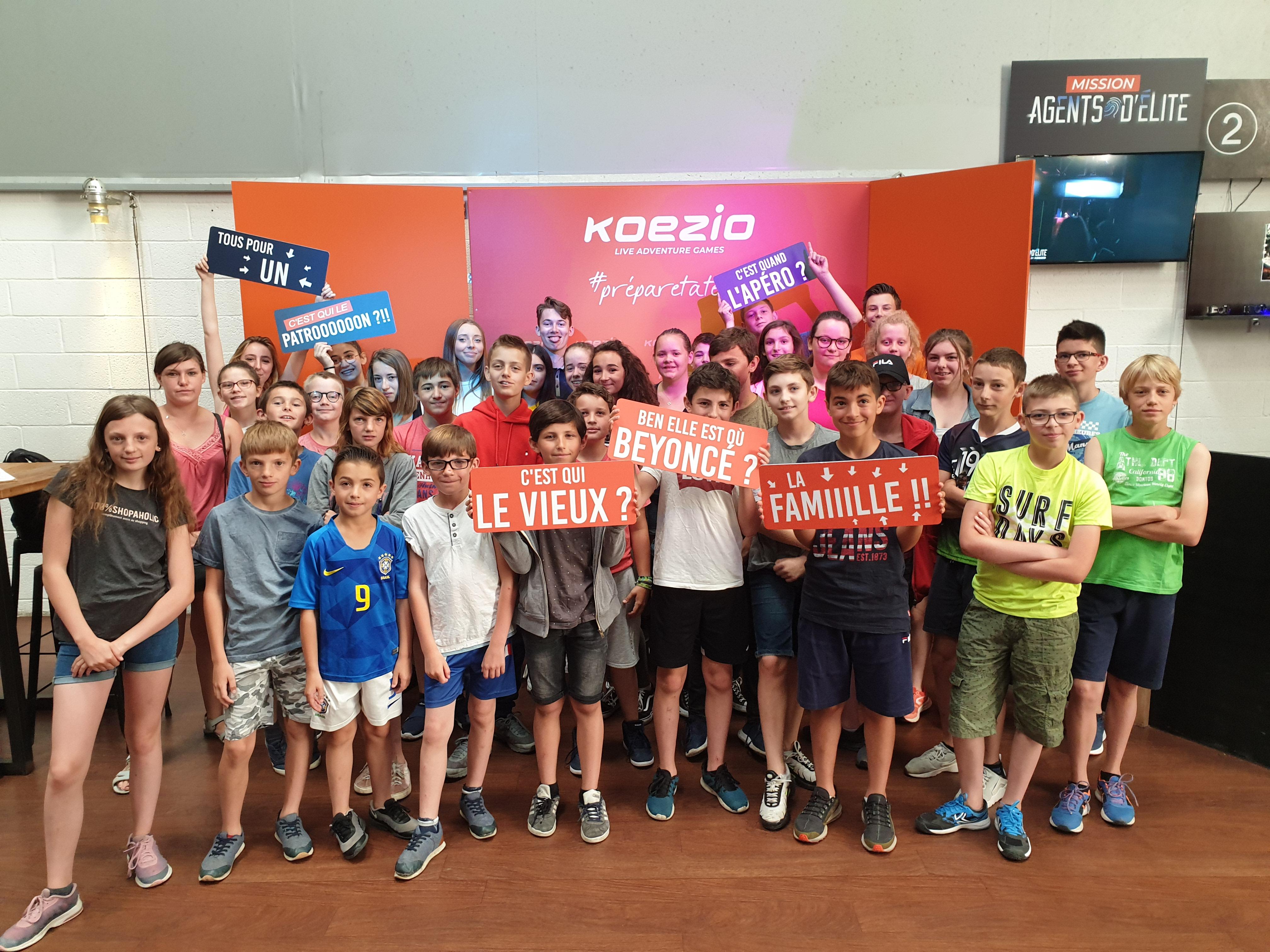 Ajr sortie Koezio et jump XL à Lille