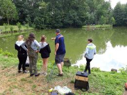 journée pêche à l'étang