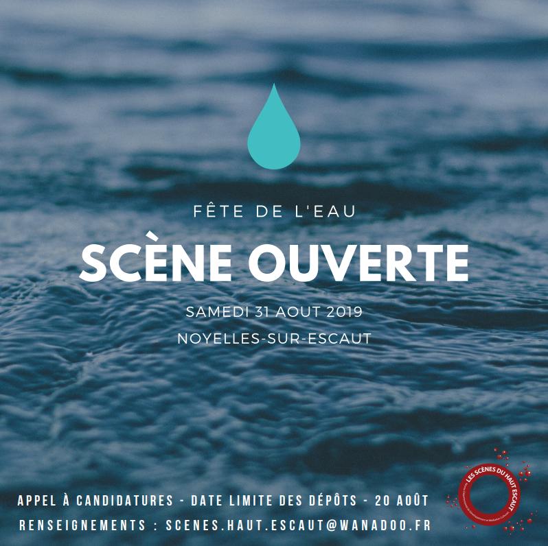 scène ouverte fête de l'eau Noyelles