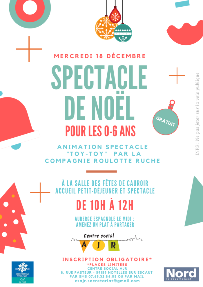 Spectacle Noel Enfants AJR
