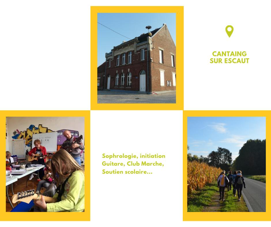 Centre social AJR à Cantaing sur Escaut