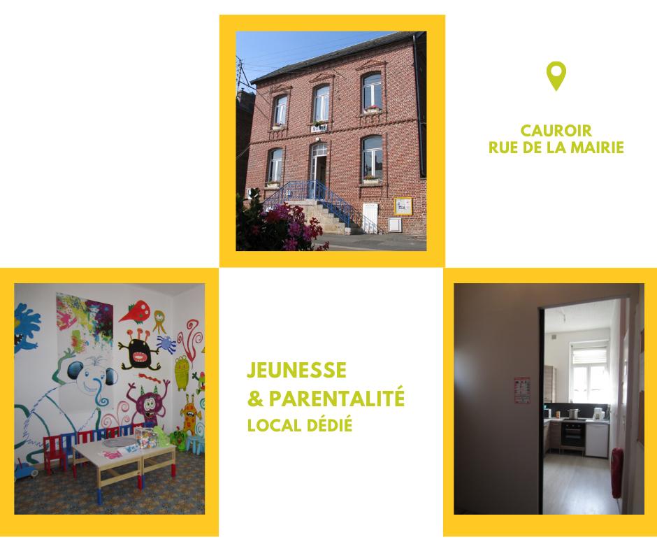 Centre social AJR à Cauroir - jeunesse et parentalité