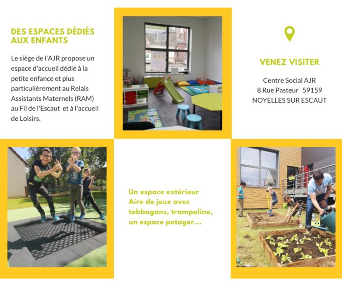 Des espaces dédiés aux enfants à Noyelles sur Escaut