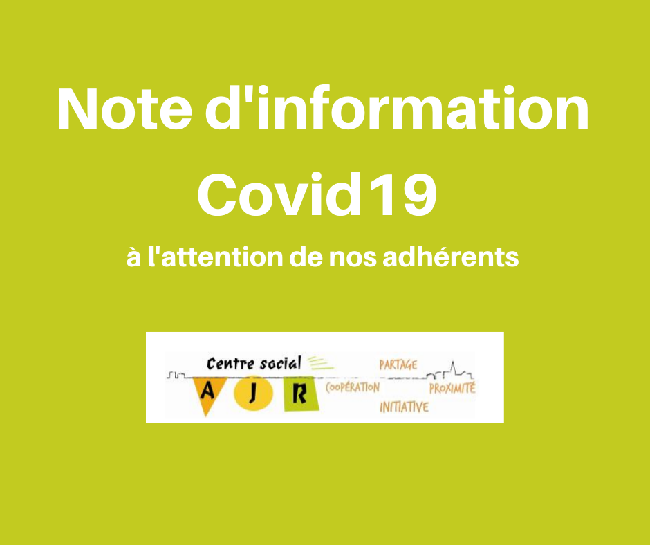 Note information adhérents Covid19 (1)