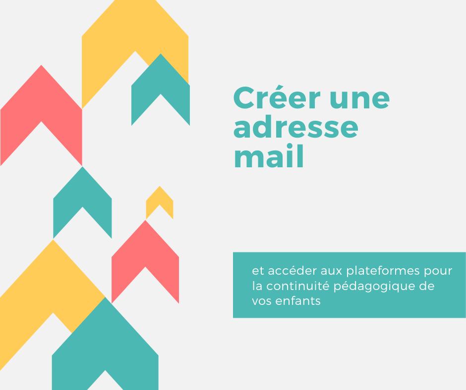 créer adresse mail école covid19
