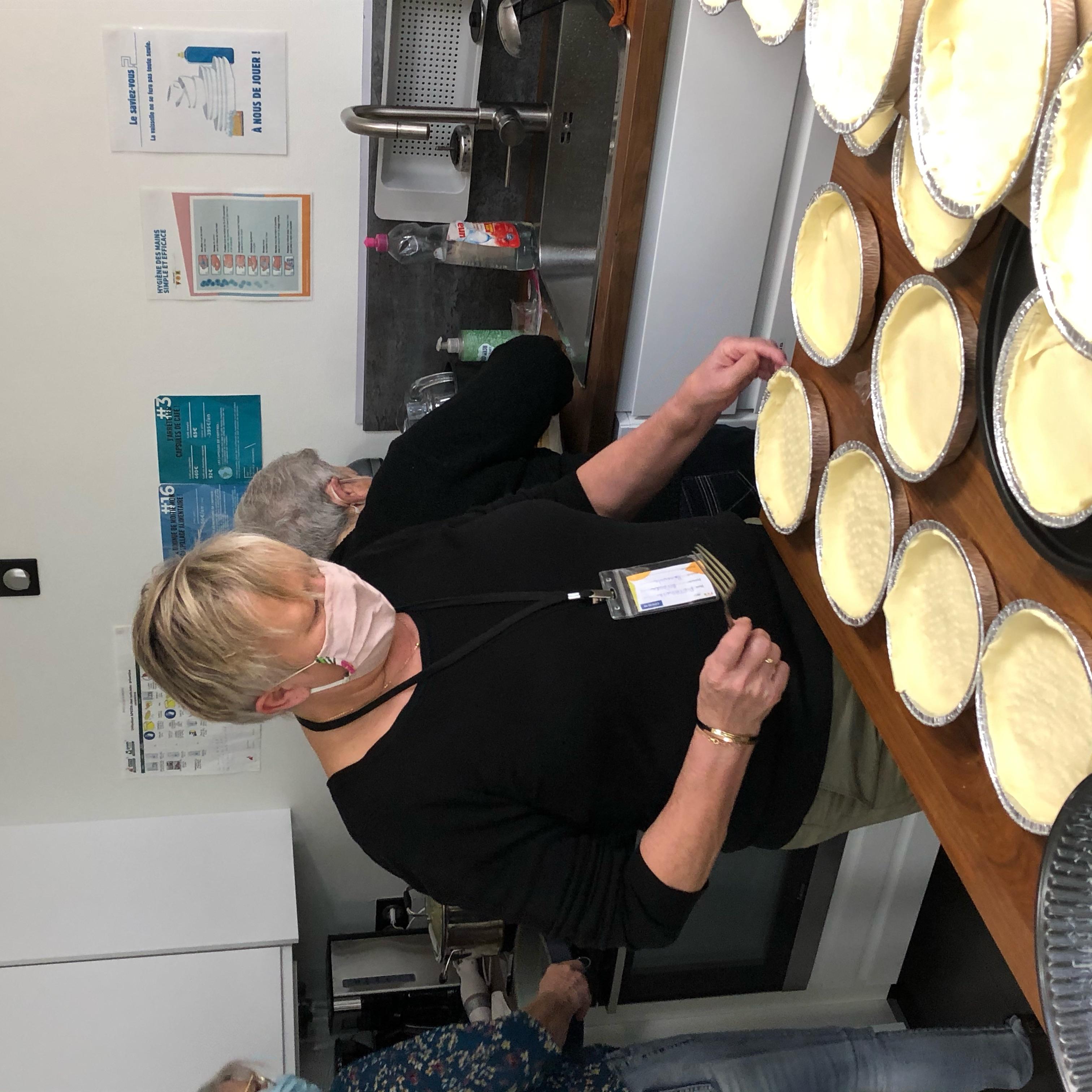 Atelier soupe bénévoles