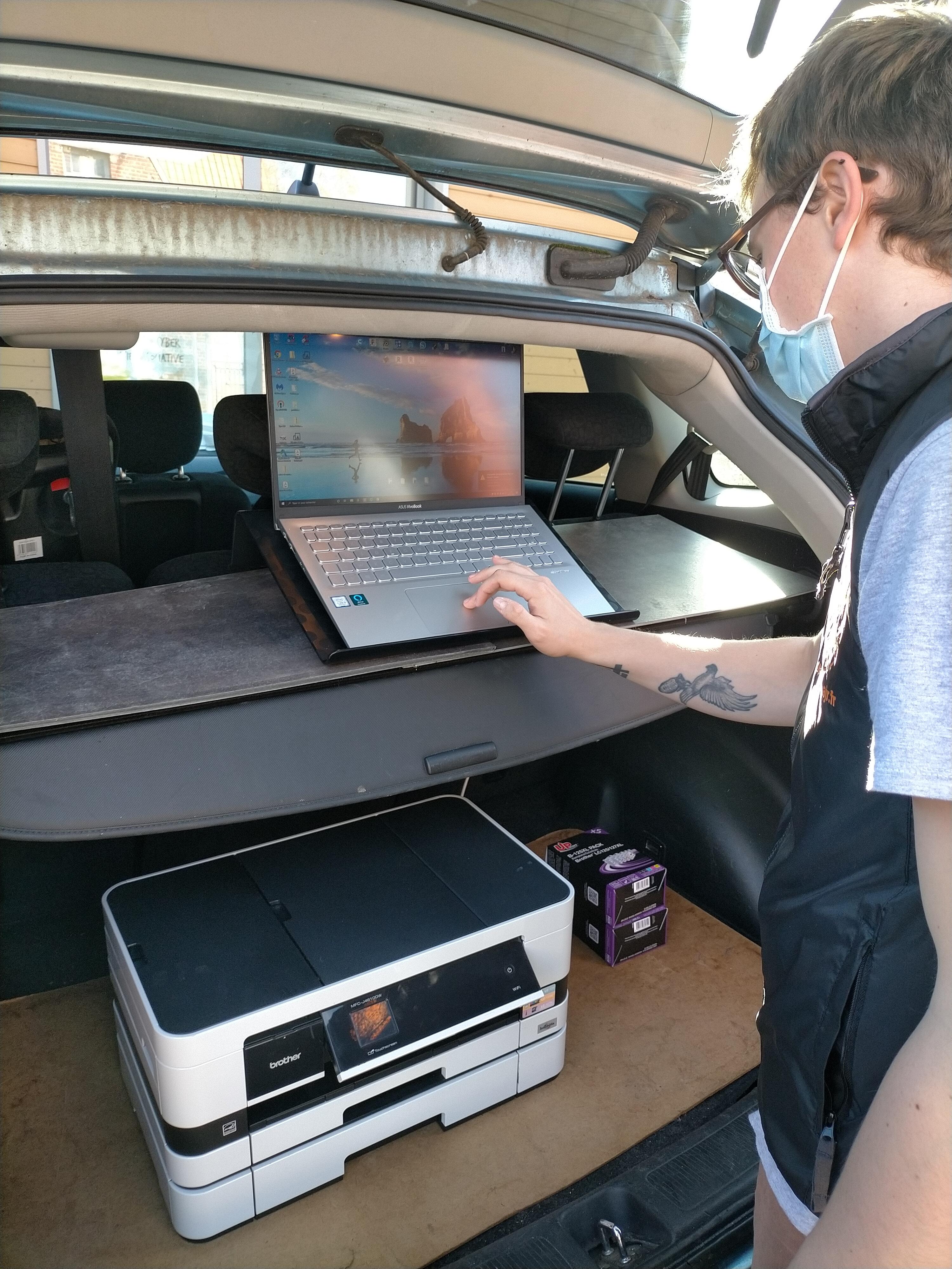La voiture numérique de l'AJR