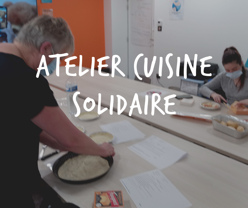 Atelier cuisine solidaire