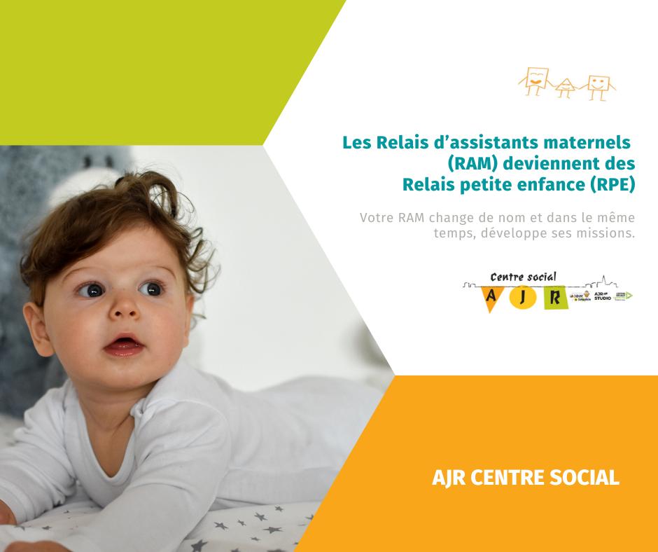 Les Relais d'assistants maternels (RAM) deviennent des Relais petite enfance (RPE)