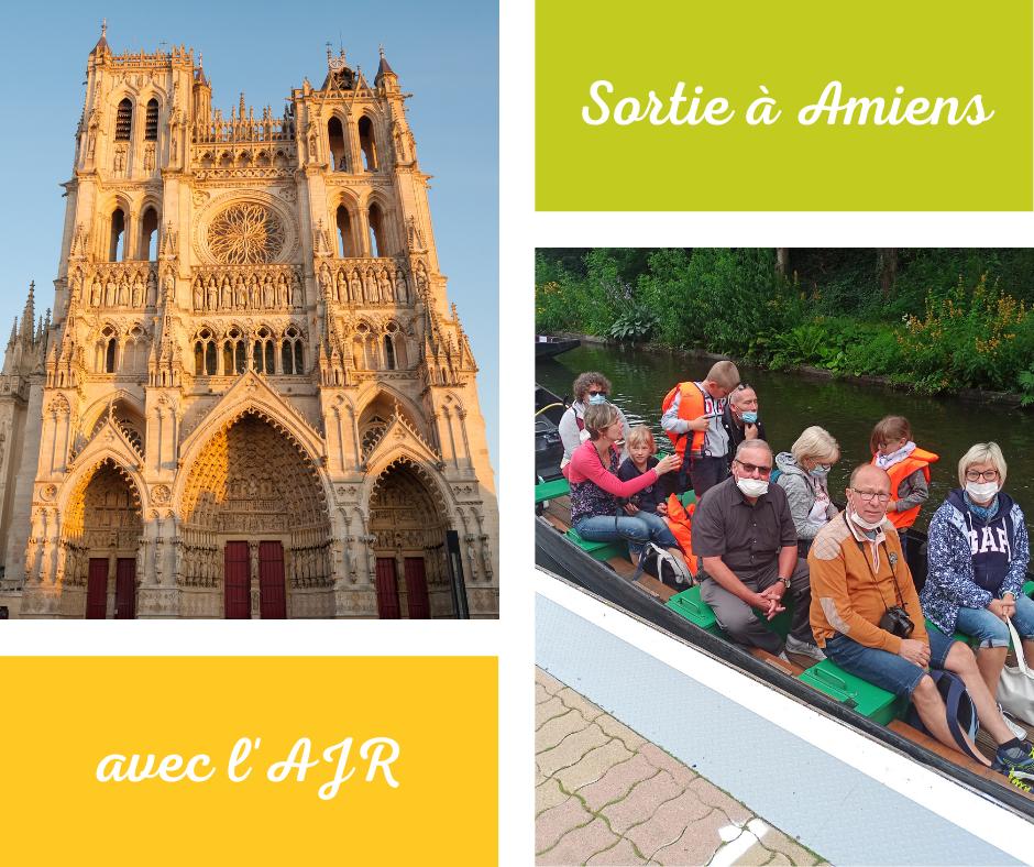 Sortie Amiens AJR été 2021